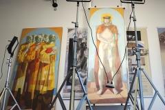 Equipamentos de LED especiais para restauro de 18 obras de Portinari