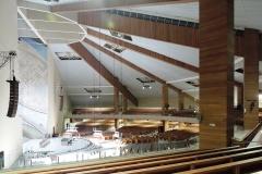 Instalação no Santuário Pai das Misericórdias - Canção Nova - LEDS e Hoists