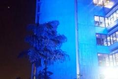 Iluminação Novembro Azul - São Paulo